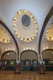 Moscow Metro station Mayakovskaya Royalty Free Stock Photos