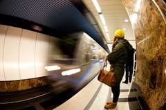 Moscow Metro. The Moscow Metro Train Station royalty free stock photos