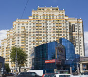 Moscow, modern buildings Stock Photography