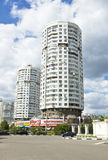 Moscow, modern buildings Royalty Free Stock Images