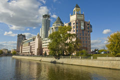 Moscow, modern business centre Royalty Free Stock Photos
