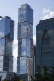 Moscow moderna byggnader Arkivfoto