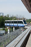 Moscow monorail Stock Image