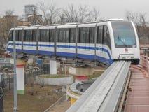 Moscow monorail Arkivbilder