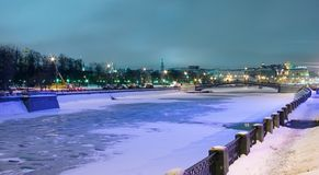 Moscow, Moskva river Stock Photography