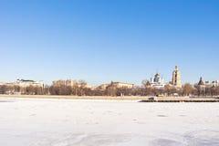 Moscow, municipal landscape Royalty Free Stock Photo