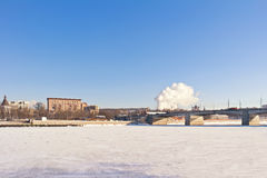 Moscow, municipal landscape Royalty Free Stock Images