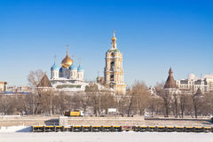 Moscow, municipal landscape Stock Images