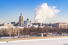 Moscow, municipal landscape Royalty Free Stock Image