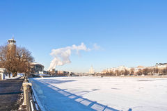 Moscow, municipal landscape Stock Photos