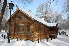 Moscow. Museum - estate Kolomenskoe. Cabin Of Pete Stock Photo