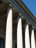 Moscow Museum of Fine Arts portico Stock Image