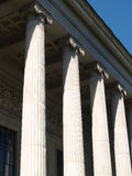 Moscow Museum of Fine Arts portico Royalty Free Stock Photo