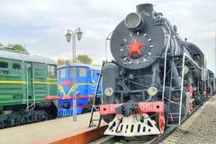 moscow Muzeum kolejowy transport Obrazy Stock