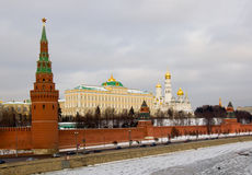 Moscow, near to the red area. Royalty Free Stock Photography