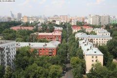 Moscow neighbourhood Royalty Free Stock Photos