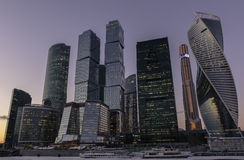 Moscow new city Royalty Free Stock Images