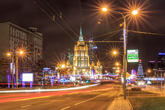 Moscow before the new year Royalty Free Stock Photos