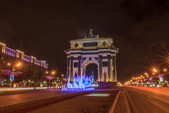 Moscow before the new year Royalty Free Stock Photography