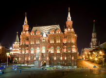 Moscow at night 3 Royalty Free Stock Images