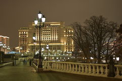 Moscow night Royalty Free Stock Images