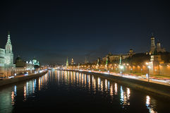 Moscow. A night sight Royalty Free Stock Images