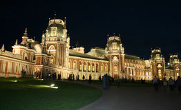 Moscow at night. Tsaritsyno Stock Images