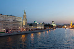 Moscow, night view Stock Photography