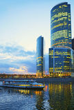 Moscow at night. Royalty Free Stock Images