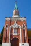Moscow, Nikolskaya tower of the Kremlin Royalty Free Stock Photo