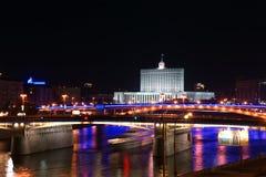 moscow noc Russia Zdjęcie Royalty Free
