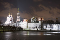 Moscow Novo-Devichiy Convent Royalty Free Stock Photography