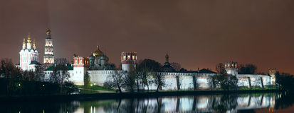 Moscow. Novodevichiy monastery. Stock Photography
