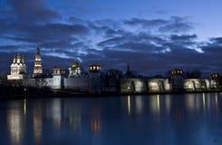 Moscow, Novodevichiy monastery Royalty Free Stock Photos