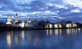 Moscow, Novodevichiy monastery Stock Photography