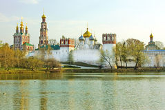 Moscow, Novodevichiy monastery Stock Photos