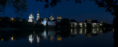 Moscow Novodevichy convent Stock Photos