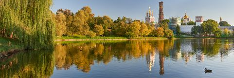 Moscow Novodevichy Convent, Russia Royalty Free Stock Images
