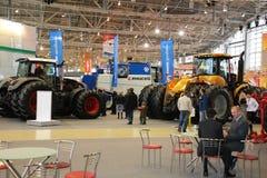 MOSCOW - OCTOBER 10: agricultural Exhibition Stock Photos
