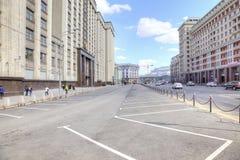 Moscow. Okhotny Ryad Street Stock Image