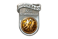 80 Moscow Olympics volleyball Royalty Free Stock Images