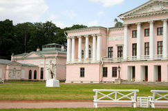 Moscow. Ostankino. Ostankino Palace in Moscow. Russia Royalty Free Stock Photo
