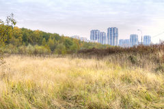 Moscow. Outskirts Royalty Free Stock Photography
