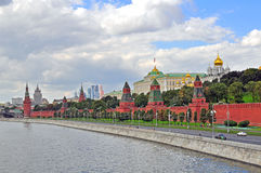 moscow panorama Arkivbild