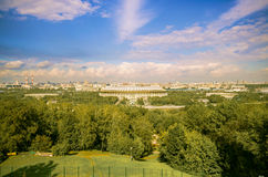 moscow panorama Royaltyfri Foto