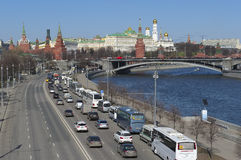 Moscow, panorama of the city Stock Photo
