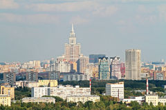 Moscow panorama Royalty Free Stock Images