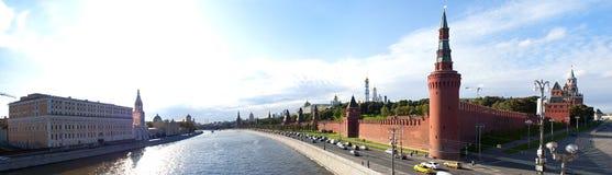 moscow panorama kremlin Fotografering för Bildbyråer