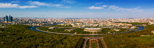 Moscow, panorama Royalty Free Stock Images