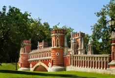 Moscow park Tsaritsyno royalty free stock images